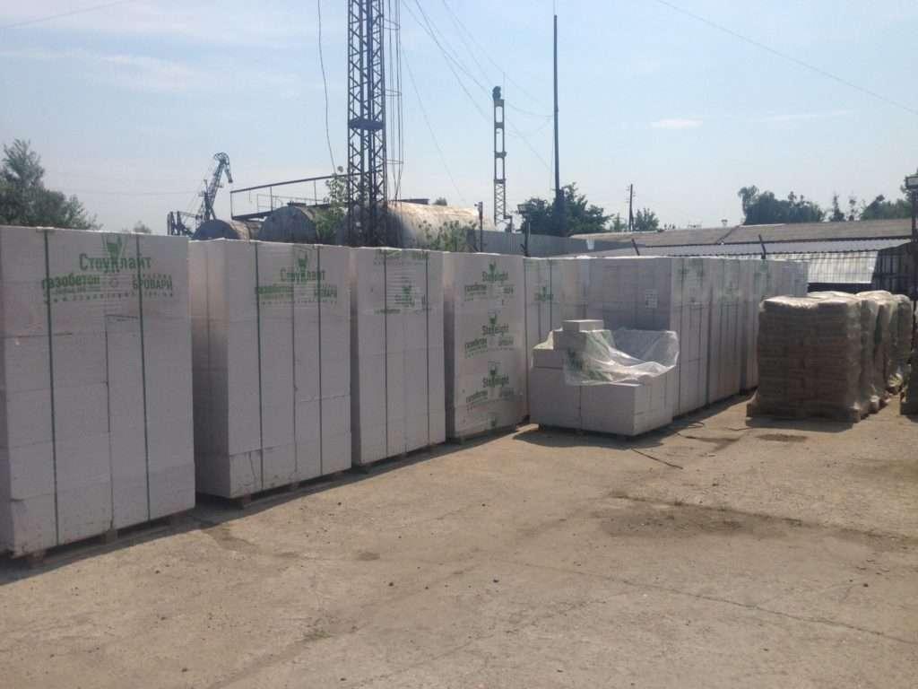 Запуск продаж стройматериалов в Вышгородском филиале